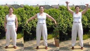 qigong exercises  flying like an eagle
