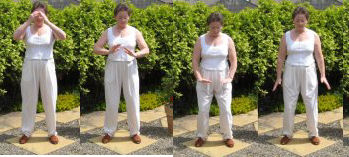 qigong exercise quiet the chi part 3