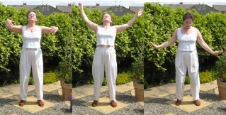 first part of roc qigong exercise