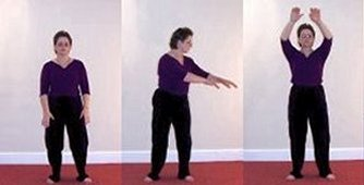tai chi qi gong turn like flying wheel