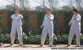 tai chi rolling the arms