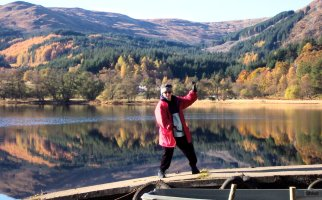 step back to repulse monkey - heading into loch