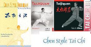 chen tai chi book covers