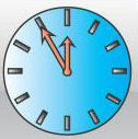 graphic learn at home clock