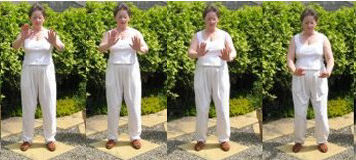qigong opening exercise raise the arms  part 3