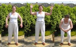 free qigong exercise - roc spreads wings