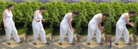 tai chi qi gong exercises – scooping the sea