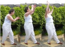 tai chi qi gong exercises – scooping the sea 2