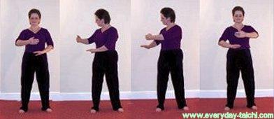 tai chi qigong movement coloud hands